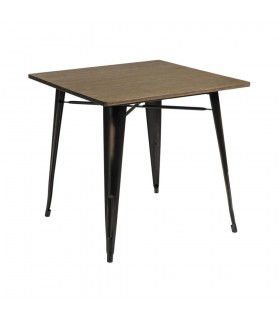 Table CHARLY BLACK BROWN