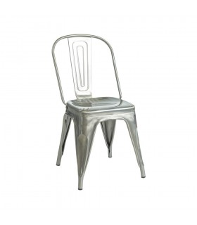 Chaise CHARLY Metal Vernis