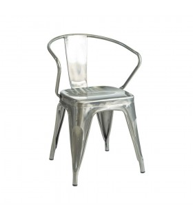 Fauteuil CHARLY Metal Vernis
